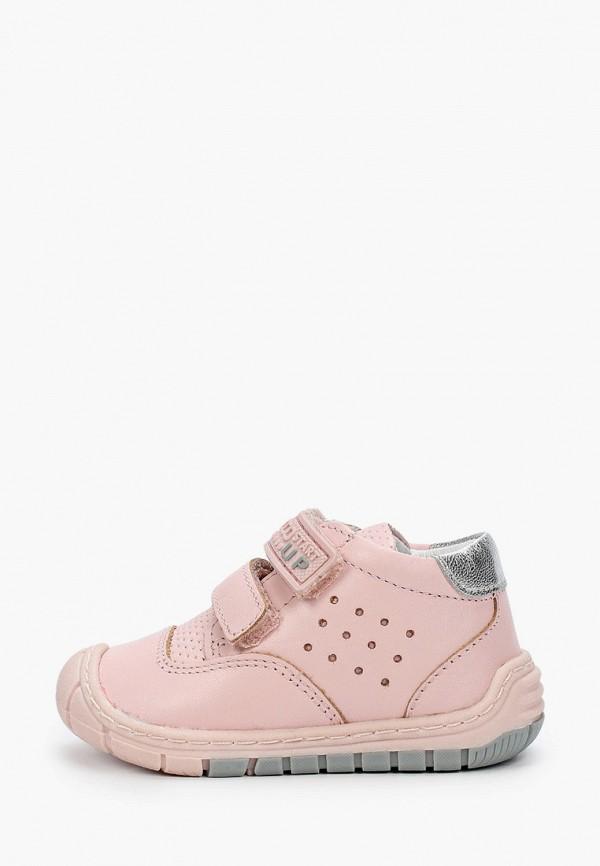 ботинки chicco для девочки, розовые