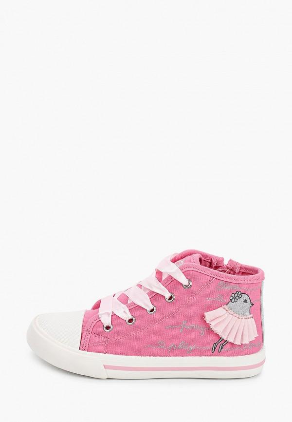 кеды chicco для девочки, розовые
