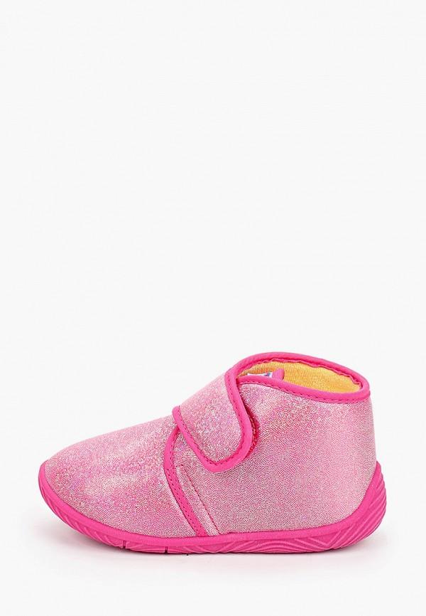 тапочки chicco для девочки, розовые