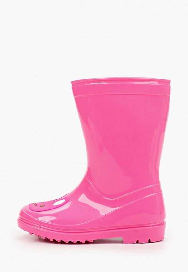 резиновые сапоги chicco для девочки, розовые