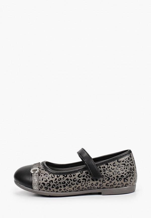 туфли chicco для девочки, серые