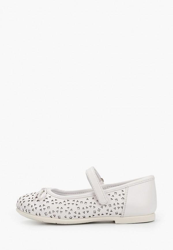 туфли chicco для девочки, белые
