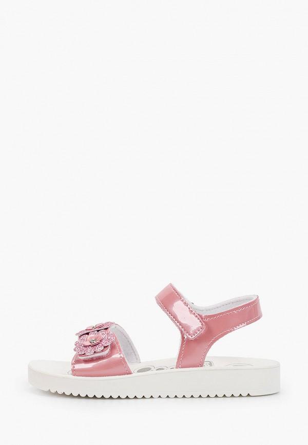 сандалии chicco для девочки, розовые