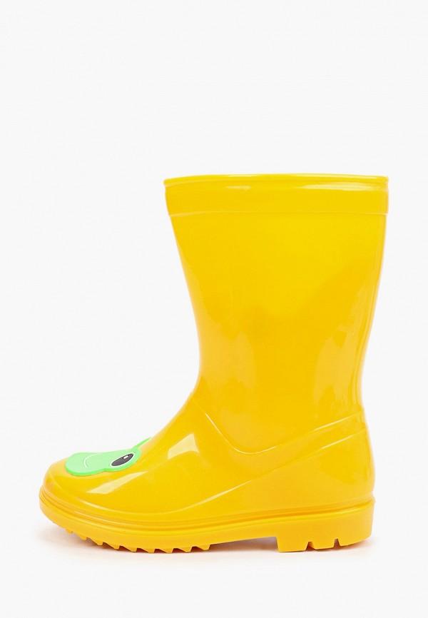 резиновые сапоги chicco малыши, желтые