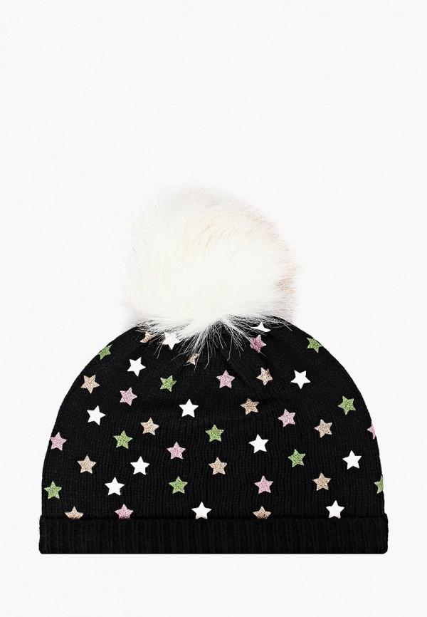 шапка chicco для девочки, черная