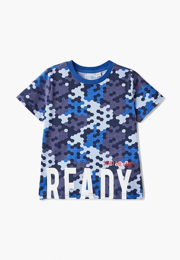 футболка с коротким рукавом chicco для мальчика, разноцветная