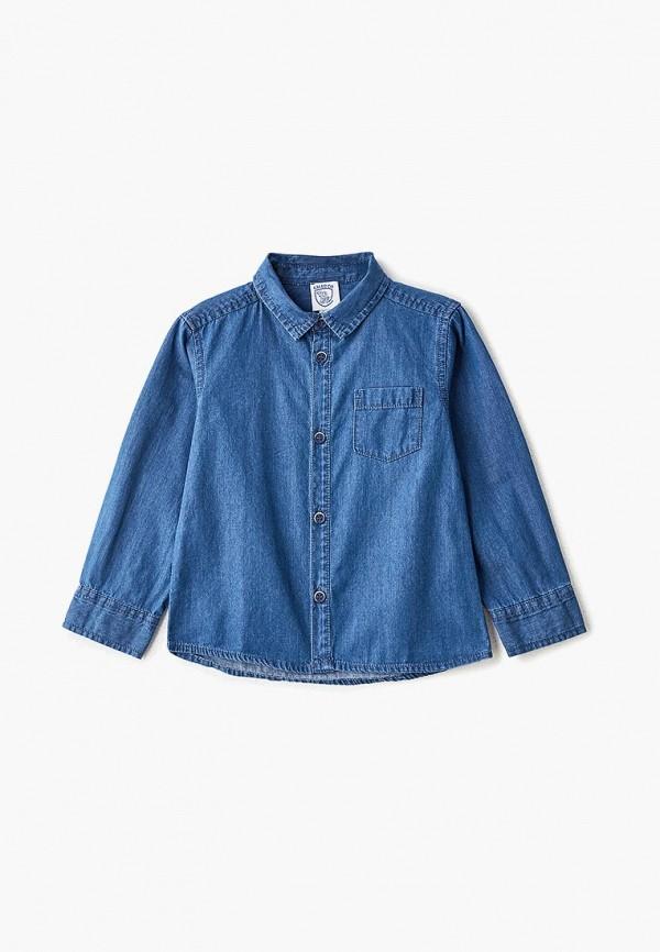 джинсовые рубашка chicco для мальчика, синяя