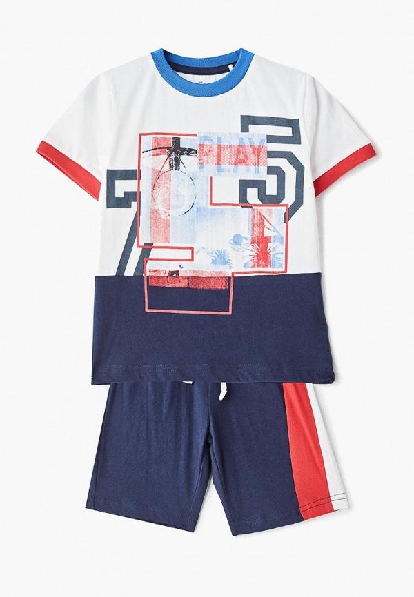 спортивные спортивный костюм chicco для мальчика, разноцветный