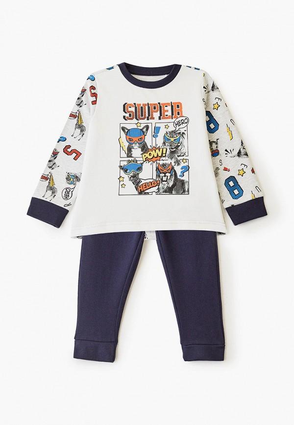 пижама chicco для мальчика, разноцветная