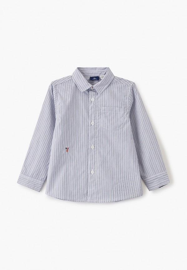 рубашка chicco для мальчика, голубая