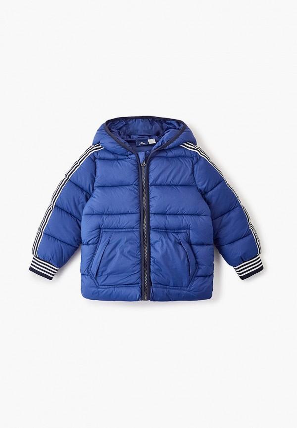 куртка chicco для мальчика, синяя