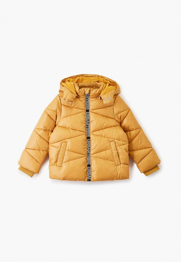 куртка chicco для мальчика, желтая
