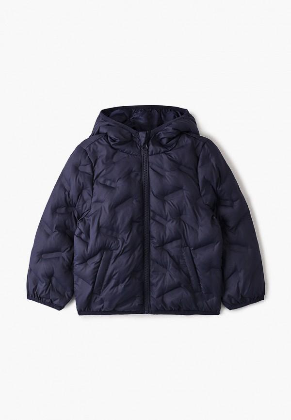 утепленные куртка chicco для мальчика, синяя