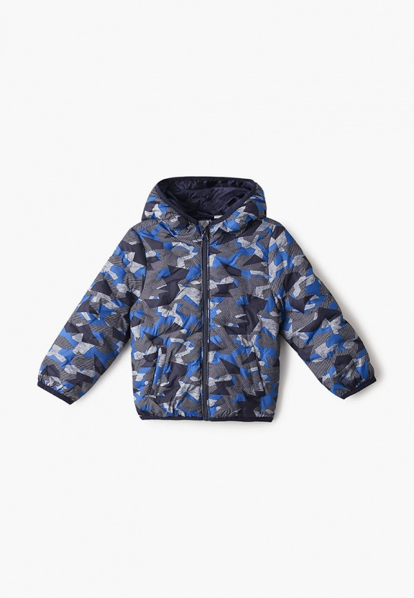 утепленные куртка chicco для мальчика, серая