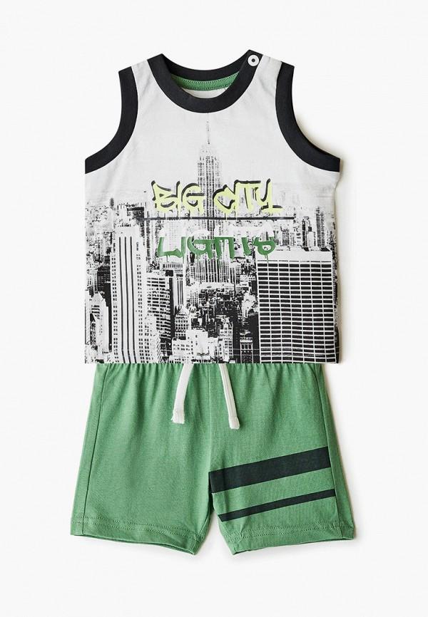 спортивный костюм chicco для мальчика, зеленый
