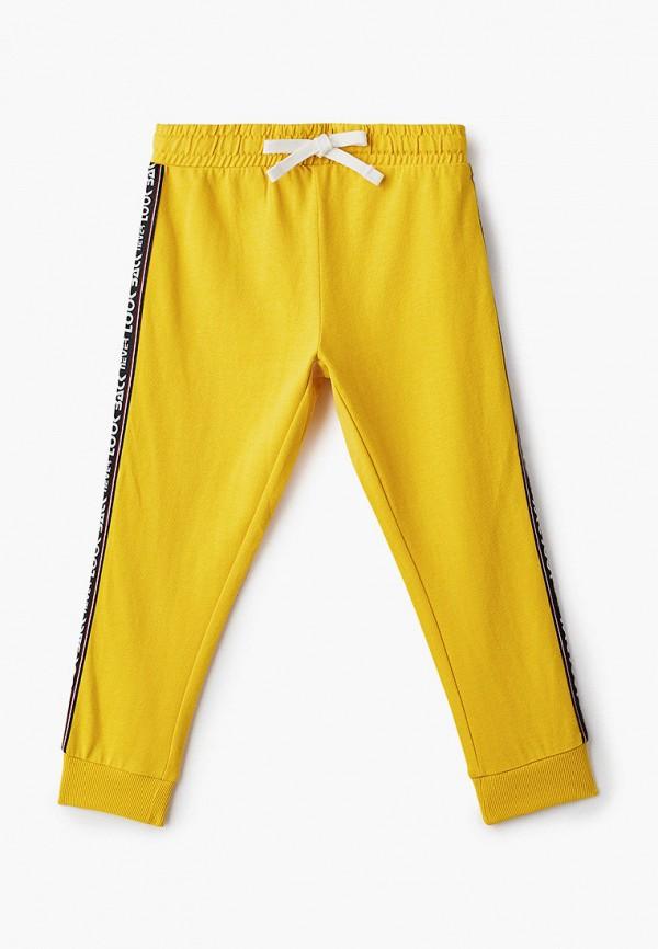 спортивные брюки chicco для мальчика, желтые