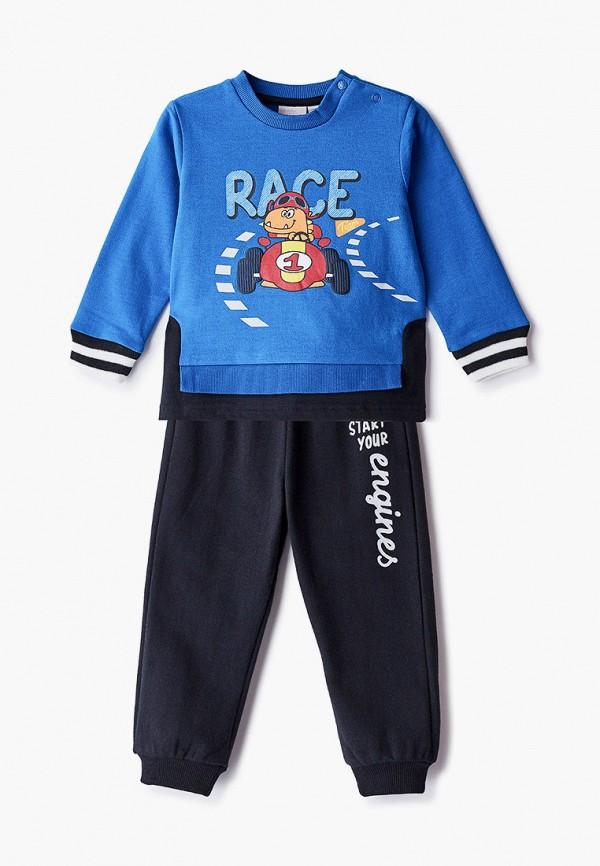 спортивный костюм chicco для мальчика, разноцветный
