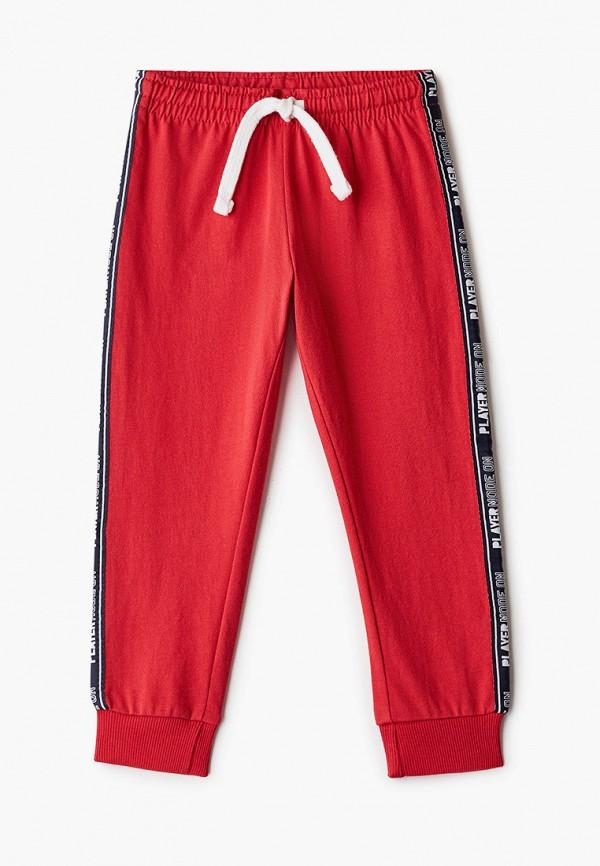 спортивные брюки chicco для мальчика, красные