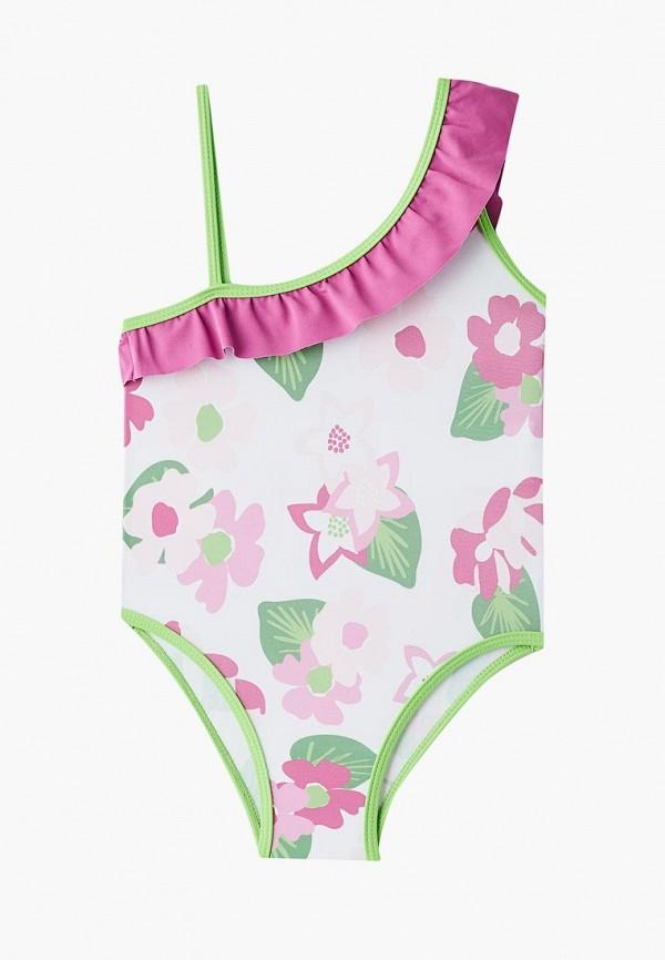 купальник chicco для девочки, разноцветный