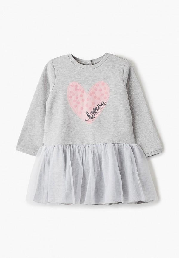 платье chicco для девочки, серое