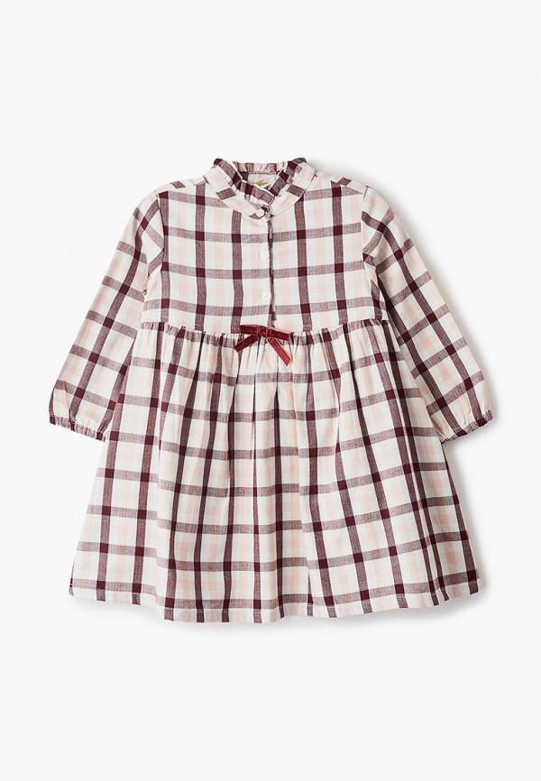 повседневные платье chicco для девочки, розовое