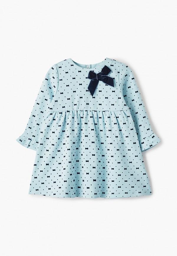 платье chicco для девочки, голубое