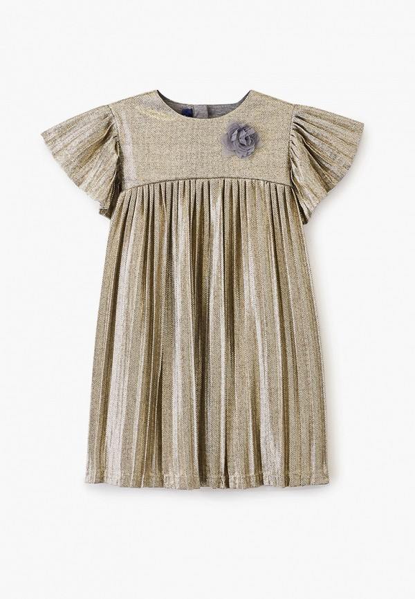 платье chicco для девочки, золотое