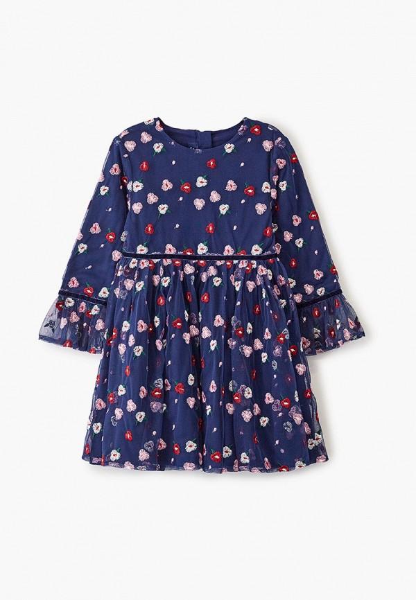 платье chicco для девочки, синее