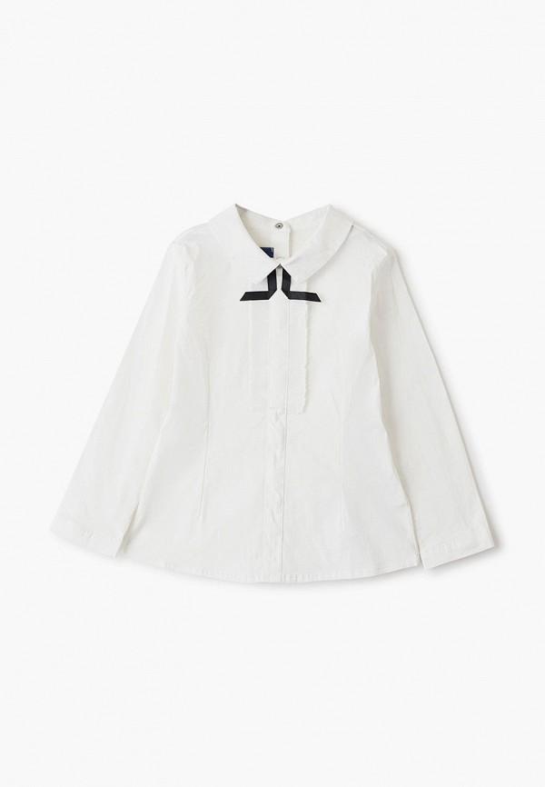 блузка chicco для девочки, белая