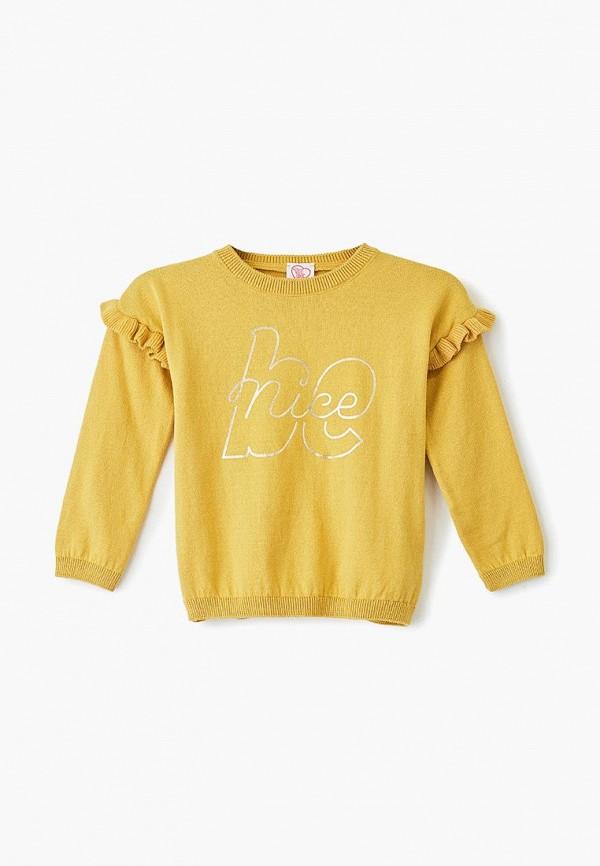 джемпер chicco для девочки, желтый