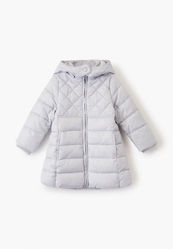куртка chicco для девочки, серая