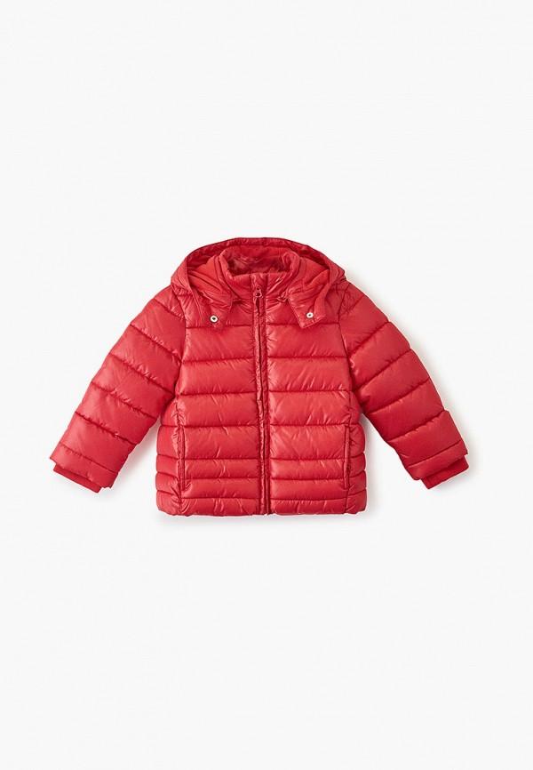куртка chicco для девочки, красная