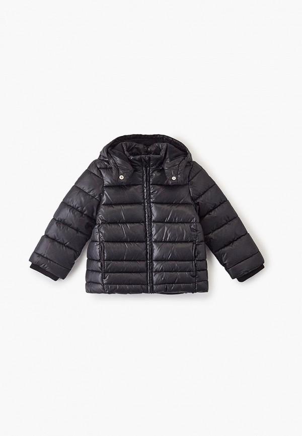 куртка chicco для девочки, черная