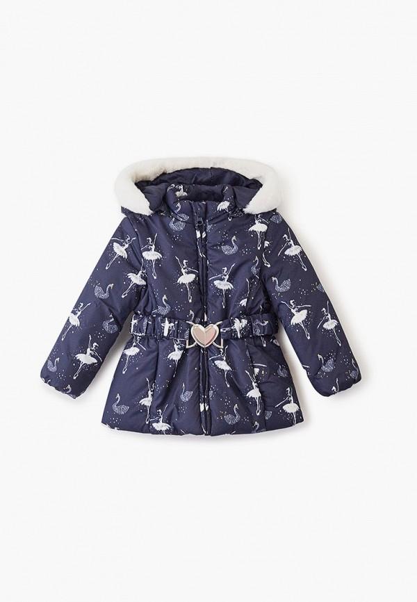 куртка chicco для девочки, синяя