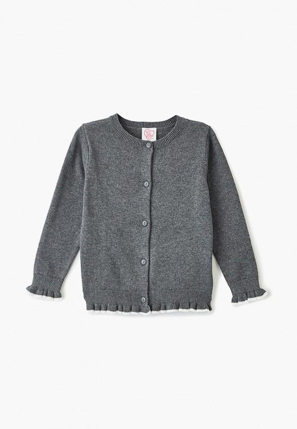 кардиган chicco для девочки, серый