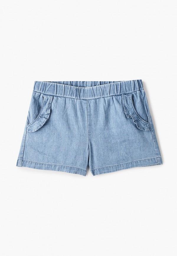шорты chicco для девочки, голубые