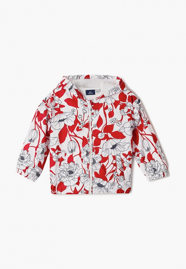 легкие куртка chicco для девочки, белая
