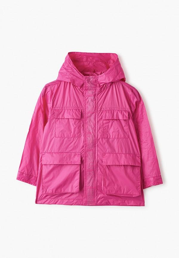 ветровка chicco для девочки, розовая