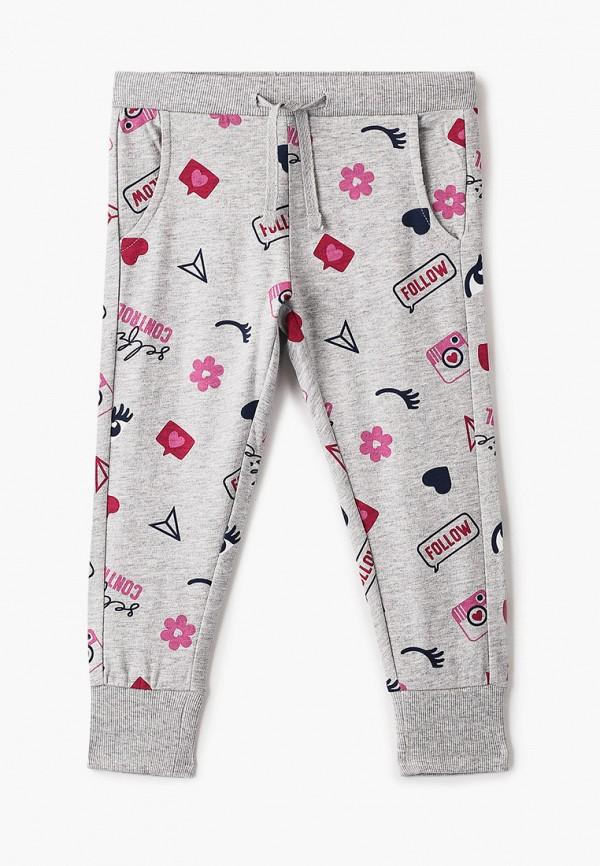 спортивные брюки chicco для девочки, серые