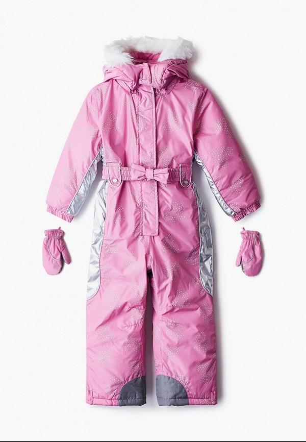 комбинезоны и костюмы chicco для девочки, розовые