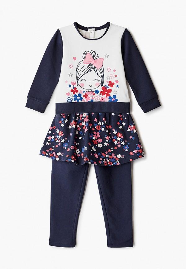 костюм chicco для девочки, разноцветный