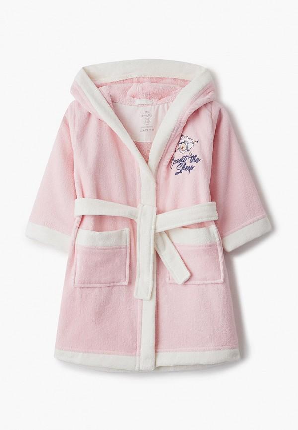 халат chicco для девочки, розовый