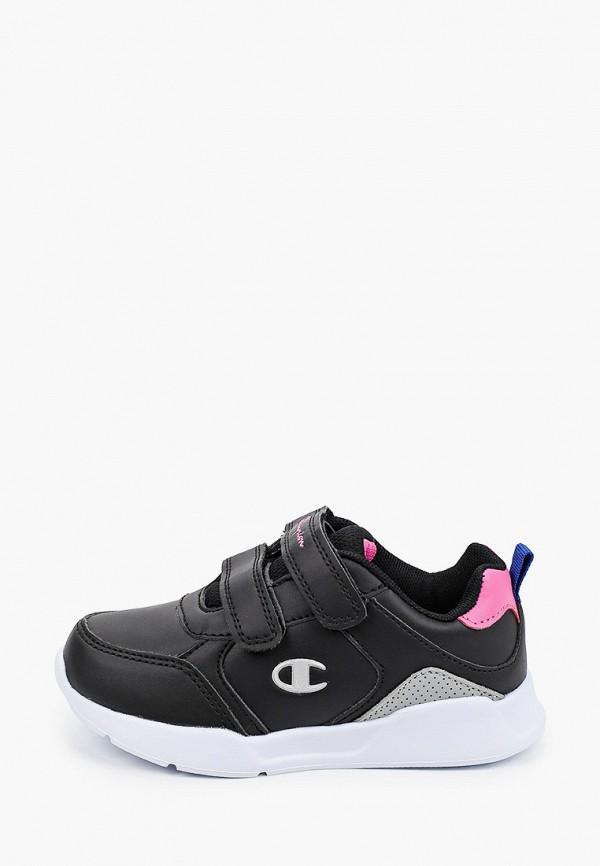 кроссовки champion для девочки, черные