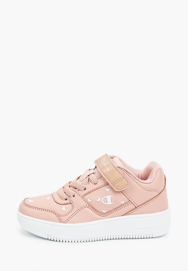 кроссовки champion для девочки, розовые