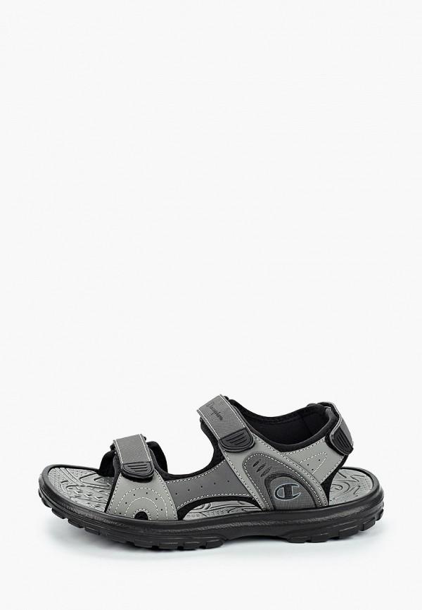мужские сандалии champion, серые