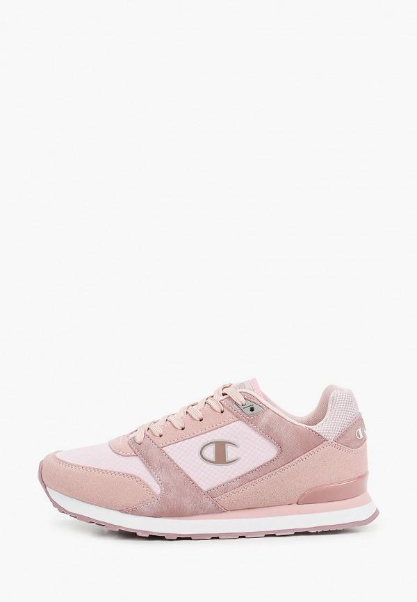 женские кроссовки champion, розовые