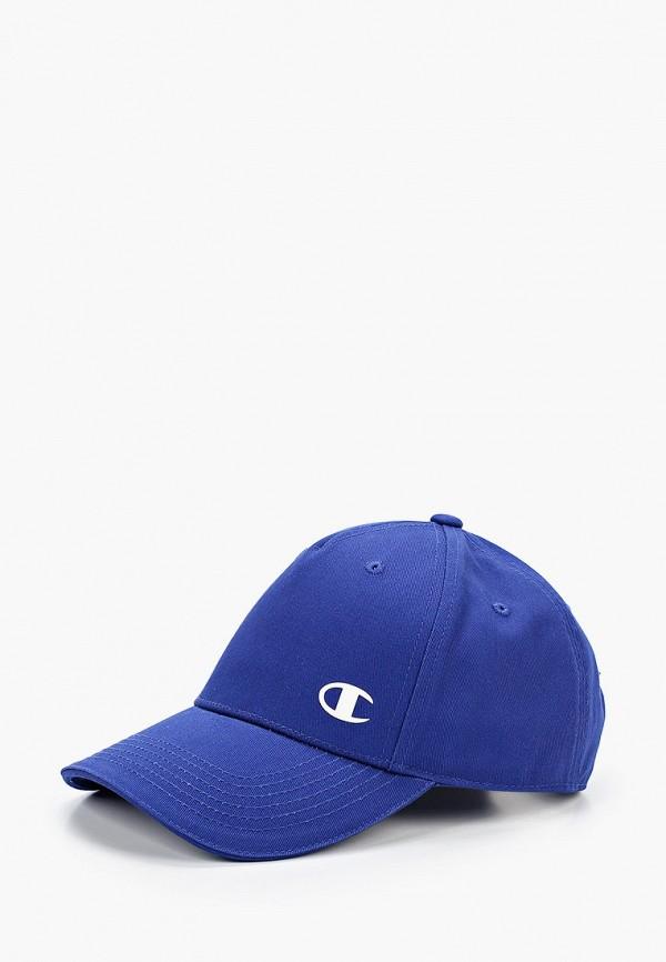 женская бейсболка champion, синяя