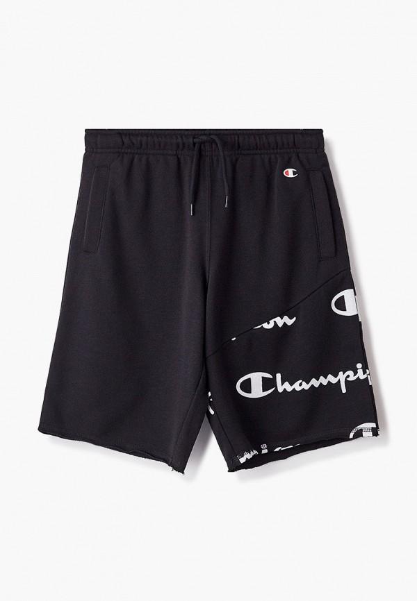 спортивные шорты champion для мальчика, черные