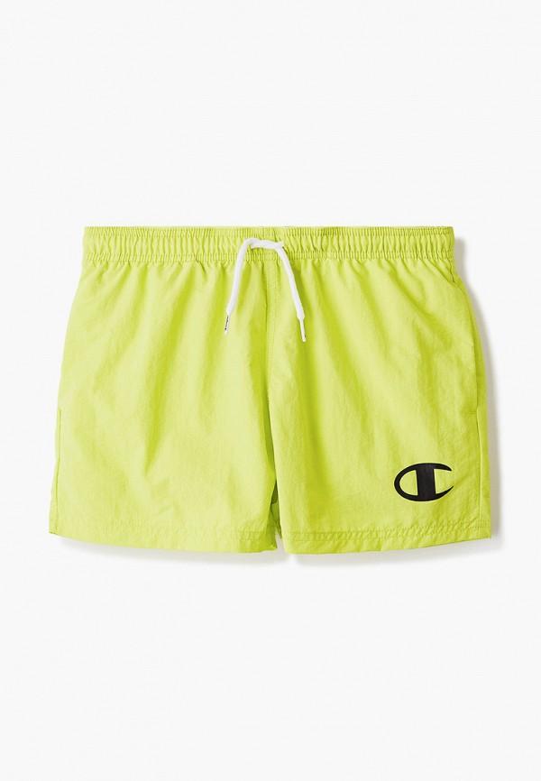 спортивные шорты champion для мальчика, желтые
