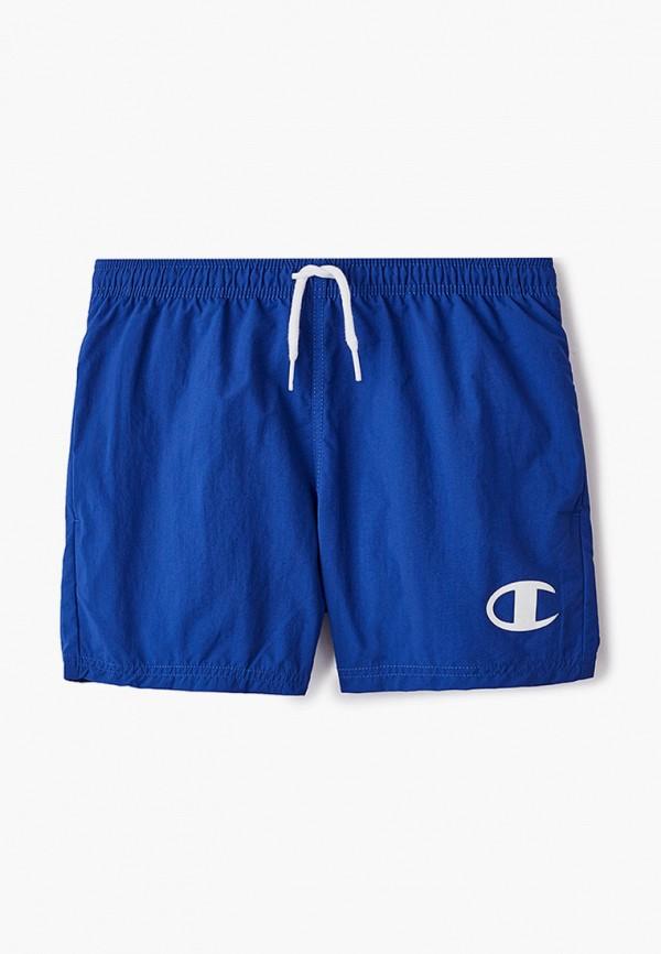 спортивные шорты champion для мальчика, синие